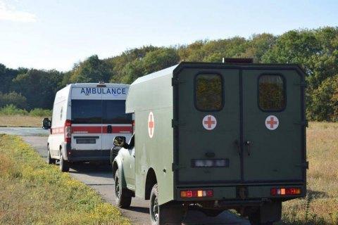 Трое военных получили ранения на Донбассе в воскресенье