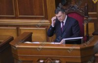 Янукович не станет выступать в Раде под крики депутатов