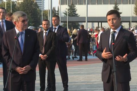 Зеленский: Олимпиада в Украине - непростая задача, но мы попробуем