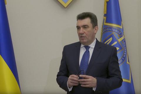 Данілов заявив, що РНБО готує нове рішення щодо ситуації на Донбасі
