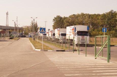 На Донбасс заехал 41-й российский гумконвой