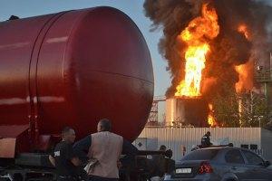Турчинов заявив про позитивну динаміку на пожежі у Глевасі