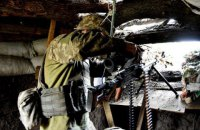 З початку доби бойовики вісім разів відкривали вогонь на Донбасі, одного військовослужбовця поранено