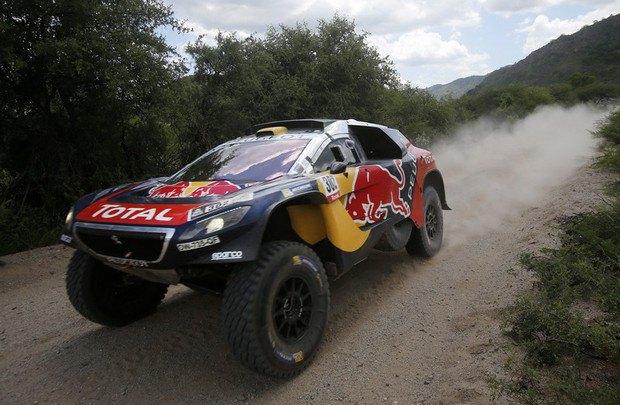Стефан Петерансель на Peugeot