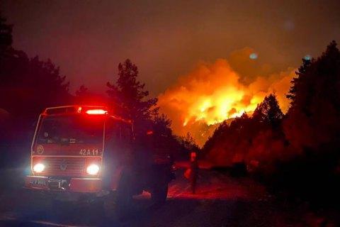 МЗС пропрацьовує сценарії евакуації українських туристів у разі небезпеки від пожеж у Туреччині