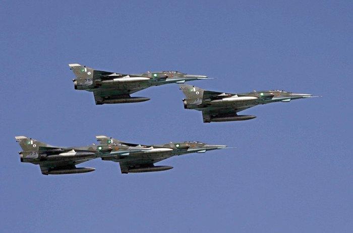 Истребители ВВС Пакистана