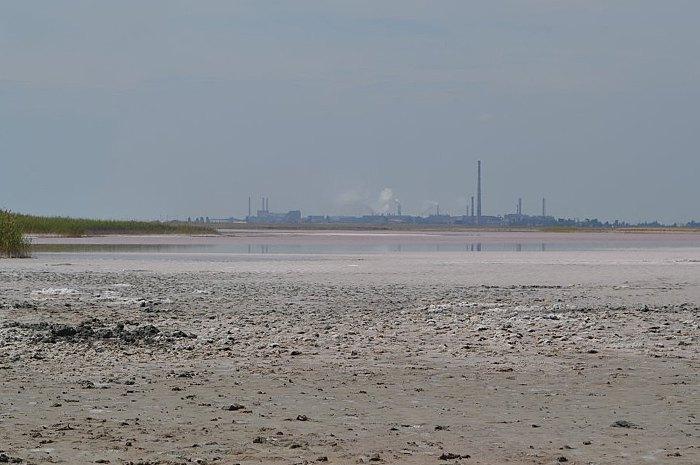 Последствия выбросов на 'Крымском Титане'