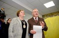 Дружина Гриценка Юлія Мостова не змогла проголосувати на виборах