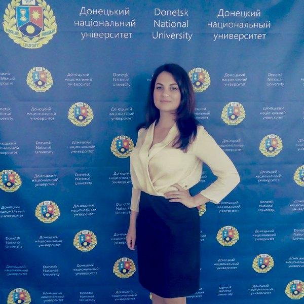 Катя в університеті у Вінниці