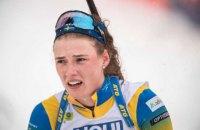 Шведська біатлоністка Еберг відповіла на звинувачення Підгрушної в хамській поведінці під час естафети ЧС-2021