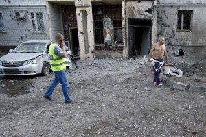 Обстрел слышен во всех районах Донецка