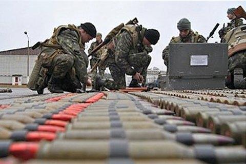 Кабмин выделил 100 млн гривен на охрану военных складов