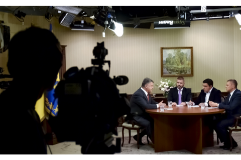 """Порошенко прокомментировал """"план Мореля"""" о выборах на Донбассе"""
