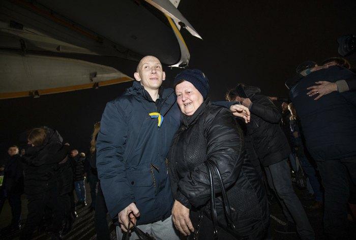 Анатолій Семеренко, звільнений з полону «ЛНР»