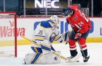 В матче НХЛ была заброшена шайба из минусового угла