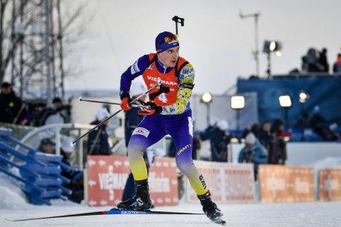Логинов выиграл золото спринта на ЧМ по биатлону, Смольский - 15-й