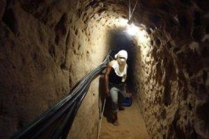 В Израиле военные обнаружили туннель, ведущий в сектор Газа