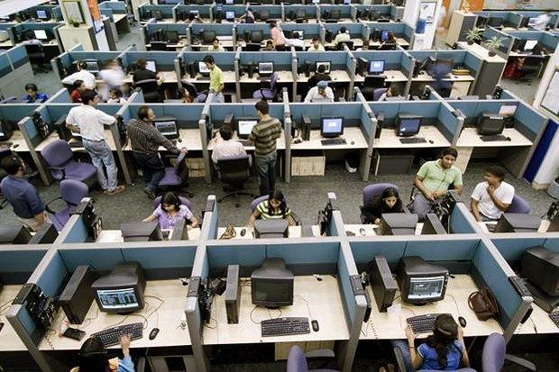 Рабочие индийской IT-компании