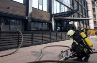 В Одессе горела гостиница, пострадавших нет