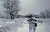 Першого дня року на Донбасі поранено українського військового