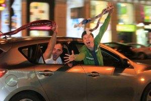 Болельщики Евро-2012 устроили драку в Варшаве