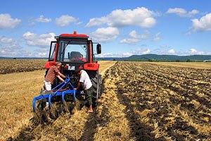 У Луганській області на полі підірвався тракторист