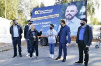 """""""Європейська солідарність"""" повідомила про перемогу свого кандидата на виборах мера Борисполя"""