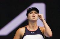 Світоліна вийшла у 1/8 фіналу Australian Open