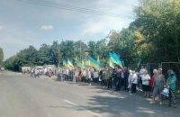 Жители села Подгорцы пытаются остановить техногенную катастрофу