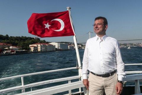 Кандидат от оппозиции выиграл выборы мэра в Стамбуле