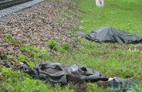 В Киеве тепловоз насмерть сбил мужчину