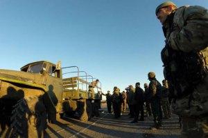 Военнослужащие 32-го блокпоста вышли из окружения