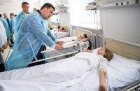 Отравившиеся в Черкассах дети сейчас в стабильном состоянии (обновлено)