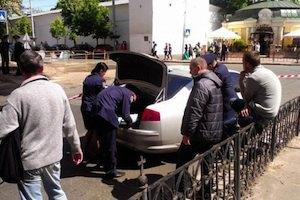 Нацгвардія затримала  8 осіб, які їхали до Києва з арсеналом зброї