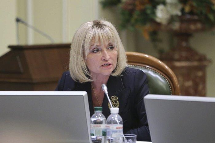 Ирина Луценко во время согласительного совета