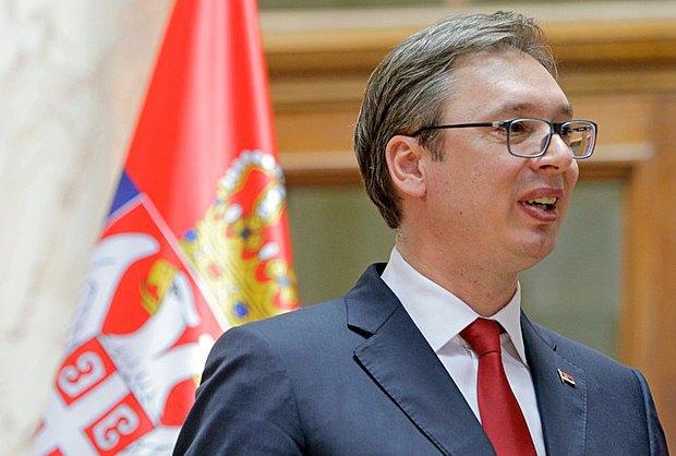 Александар Вучич після виголошення присяги перед парламентом, 31 травня 2017