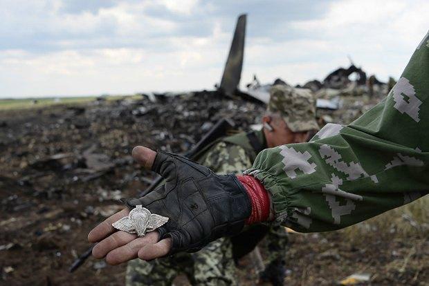 Транспортник Ил-76 был подбит при заходе на посадку в аэропорту