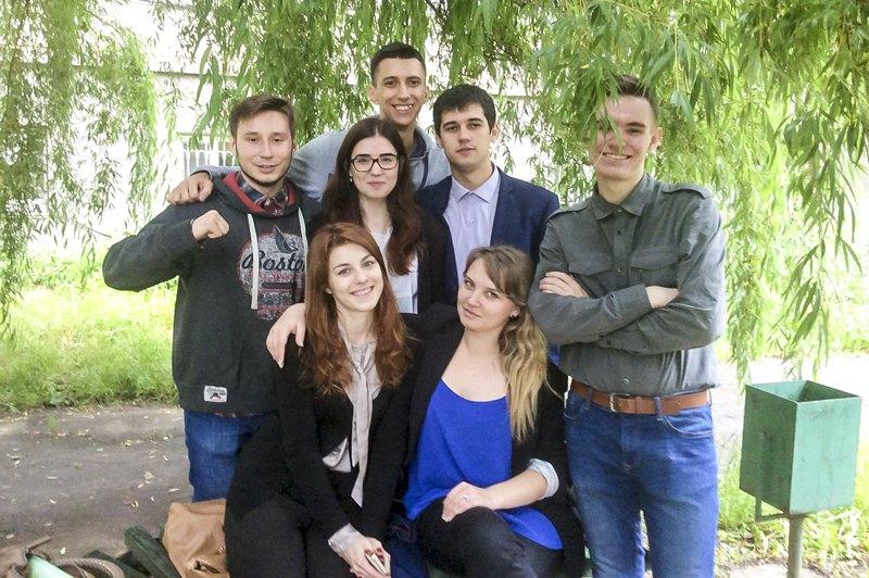Діма з друзями у Вінниці