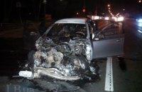На Столичном шоссе в Киеве BMW устроил смертельное ДТП