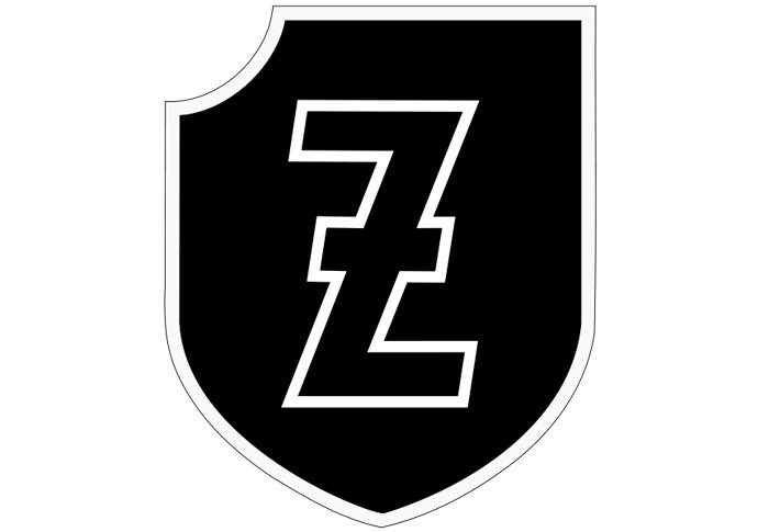 Емблема 4 поліцейської панцер-гренадерської дивізії СС