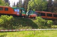 У Чехії через помилку машиніста зіткнулися два потяги