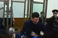 Прес-секретаря Порошенка під руки вивели із зали суду після оголошення вироку Савченко