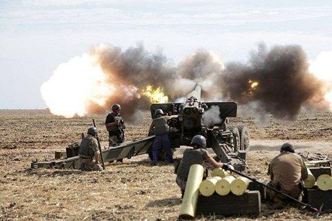 Бойовики 75 разів обстріляли сили АТО на всіх напрямках