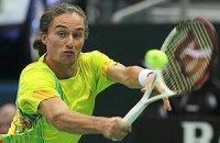 Долгополов виграв 8 геймів поспіль і зробив крок у півфінал у Валенсії