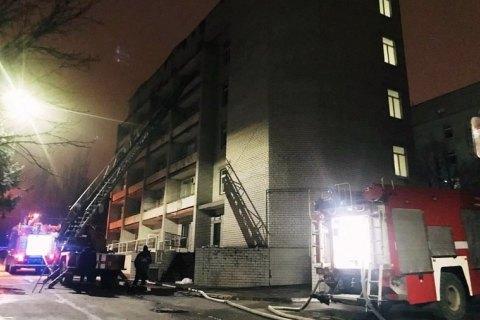 Задержали ответственного за противопожарную безопасность в больнице Запорожья