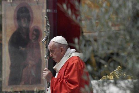 Зеленский провел телефонный разговор с Папой Римским Франциском