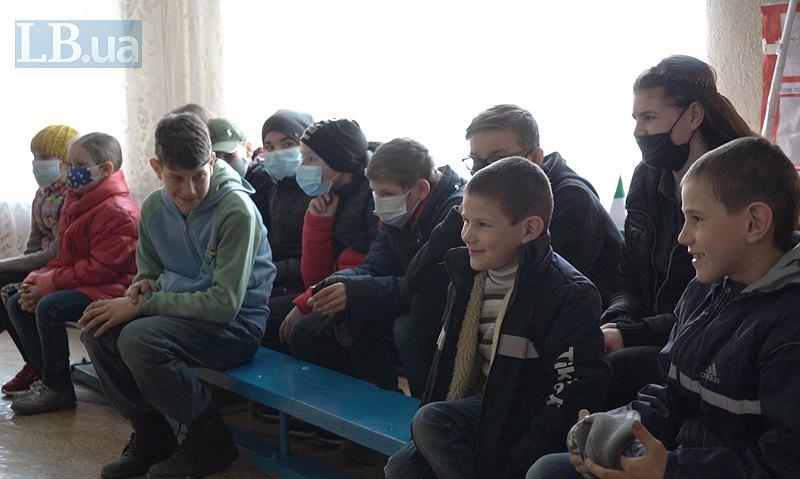 Учні Тошківської школи