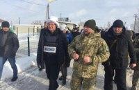 Климкин и глава ОБСЕ Лайчак приехали на Донбасс