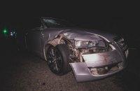 Під Києвом водій Audi збив насмерть трьох пішоходів