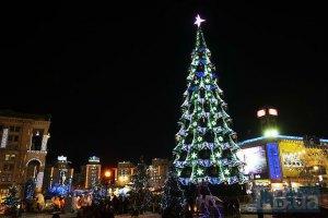 Главную новогоднюю елку на Майдане начнут устанавливать уже в ноябре